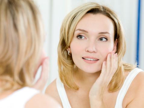 עור פנים בריא